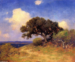 Robert Julian Onderdonk - Old Live Oak
