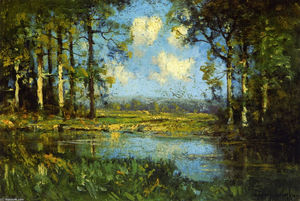 Robert Julian Onderdonk - The Woodland Pool