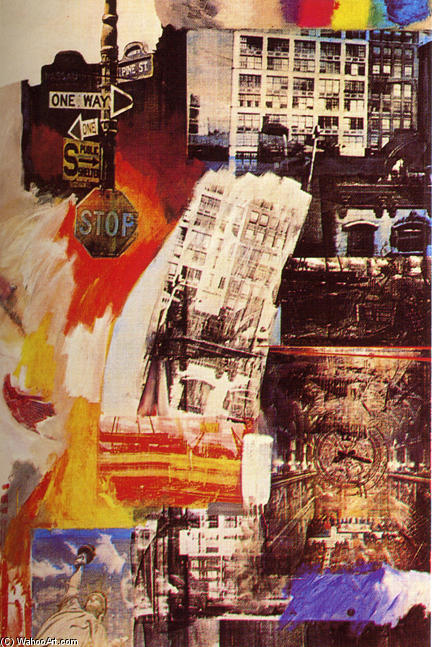 | Estate by Robert Rauschenberg | Most-Famous-Paintings.com
