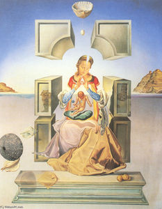 Salvador Dali - The First Study for the Madonna of Port Lligat