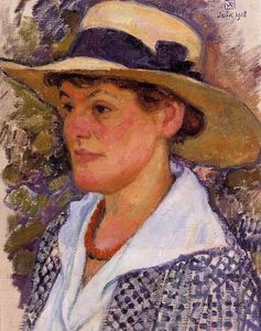 Theo Van Rysselberghe - Portrait of a Woman