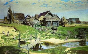 Vasily Dmitrievich Polenov - Russian Village