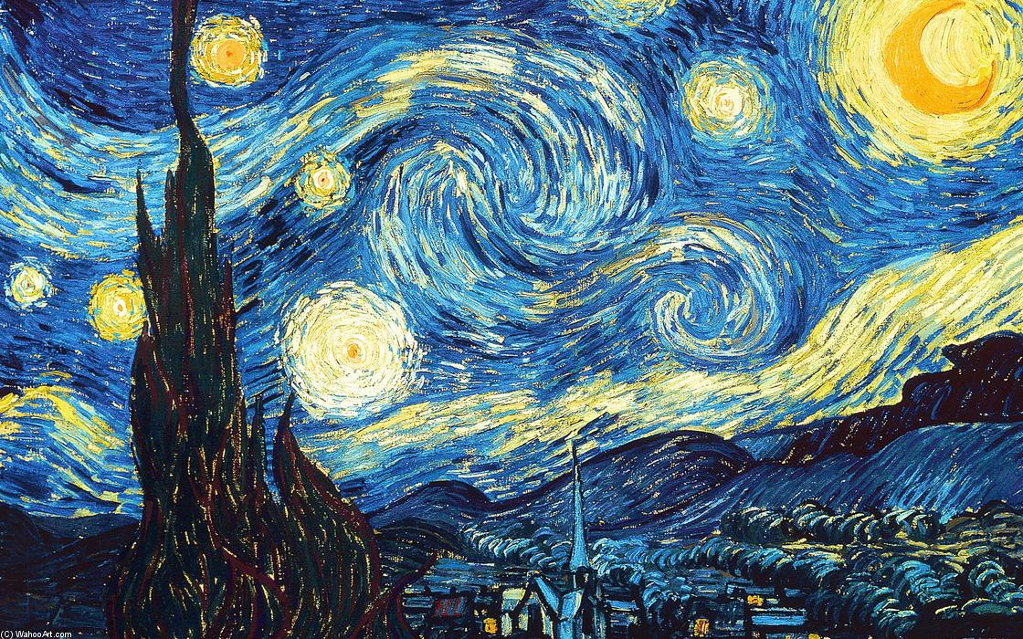 famous painting The Starry Night of Vincent Van Gogh
