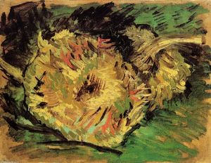 Vincent Van Gogh - Two Cut Sunflowers
