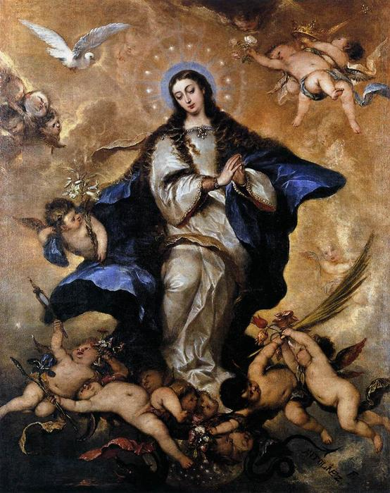 famous painting Immaculate Conception of José Antolinez