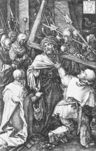 Albrecht Durer - Bearing of the Cross (No. 10)