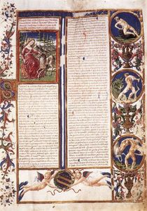 Francesco Di Giorgio Martini - First page of the Codex De Animalibus