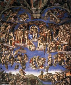 Michelangelo Buonarroti - Last Judgment