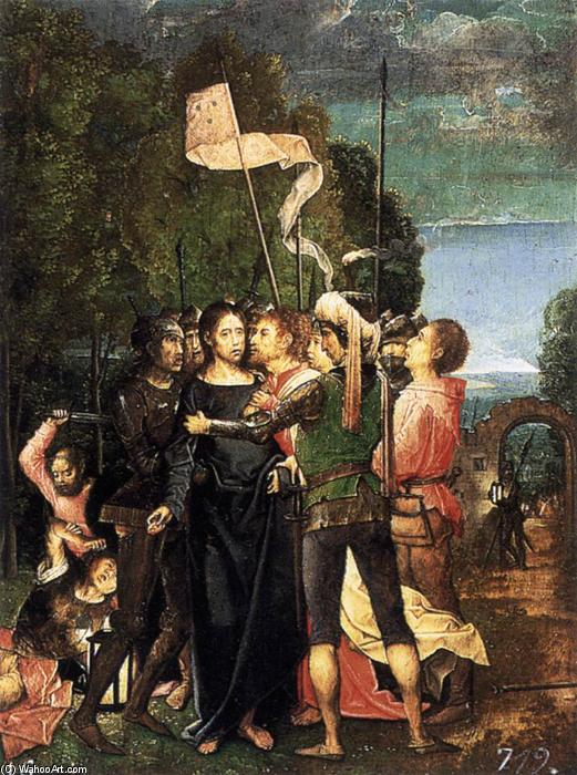 Buy Museum Art Reproductions | Capture of Christ by Juan De Flandes | Most-Famous-Paintings.com