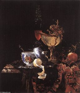 Willem Kalf - Still-Life with a Nautilus Cup