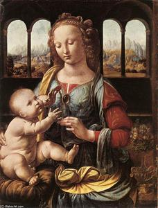 Leonardo Da Vinci - The Madonna of the Carnation
