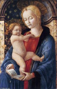 Master Of The Castello Nativity - Madonna and Child
