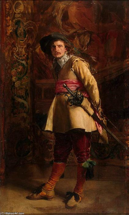 famous painting Musketeer of Jean Louis Ernest Meissonier