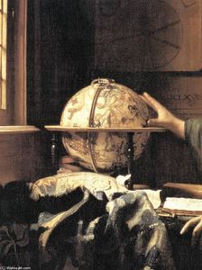 Jan Vermeer - The Astronomer (detail)