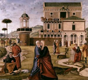 Vittore Carpaccio - The Visitation
