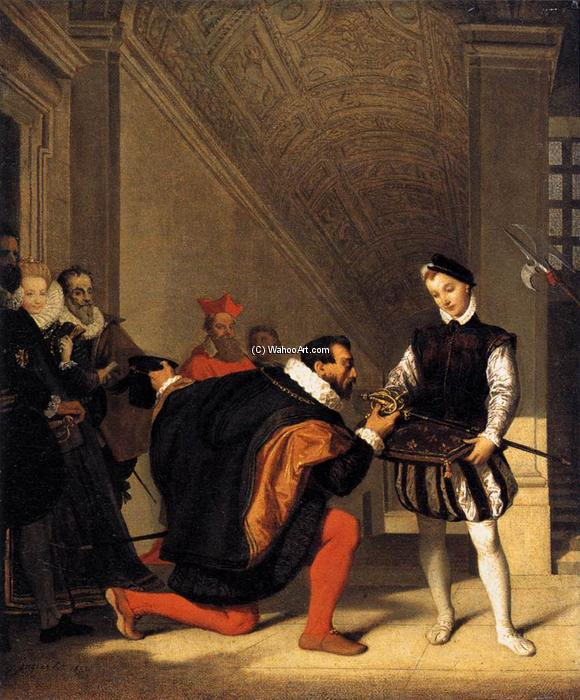 Order Museum Quality Copies | The Sword of Henry IV by Jean Auguste Dominique Ingres | Most-Famous-Paintings.com