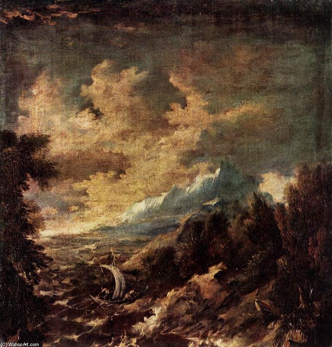 Stormy Region by Marco Ricci | Art Reproductions | Most