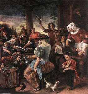 Jan Steen - A Merry Party