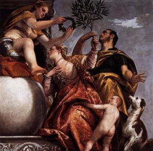 Paolo Veronese - Allegory of Love, IV: Happy Union
