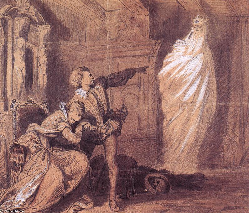 the emphasis of spirits ghosts in the play hamlet by william shakespeare