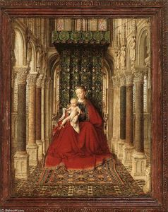 Jan Van Eyck - Small Triptych (central panel)