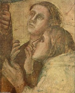 Giotto Di Bondone - Scenes from the Life of St John the Evangelist: 2. Raising of Drusiana (detail) (11)