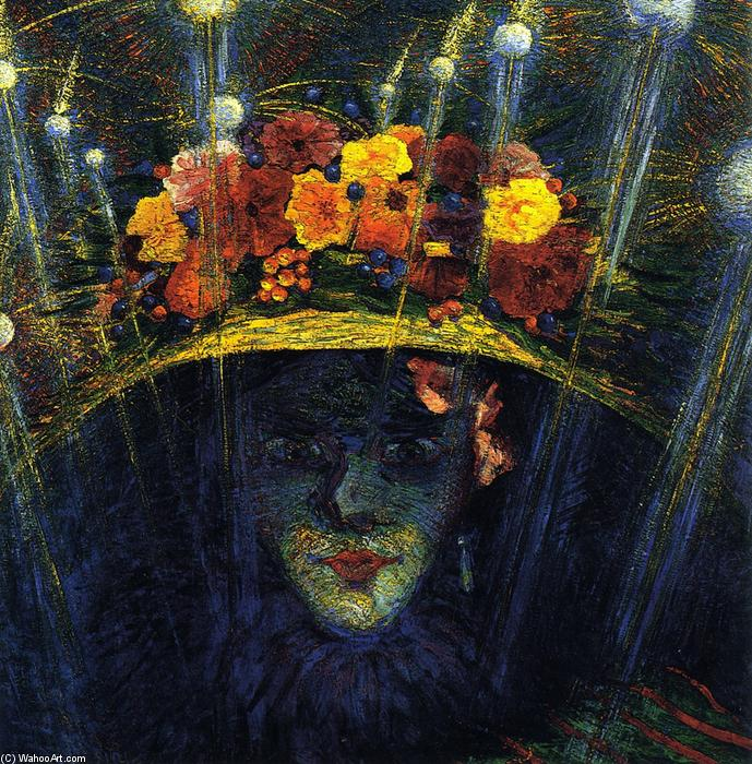 Order Reproductions | Modern Idol by Umberto Boccioni | Most-Famous-Paintings.com