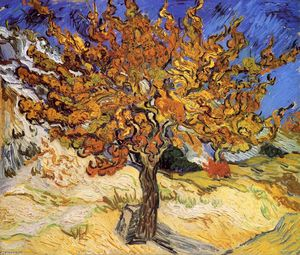 Vincent Van Gogh - Mulberry Tree (also known as The Mulberry Tree)