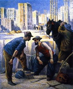 Maximilien Luce - Navvies