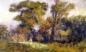 Frederick Mccubbin - The Old Garden