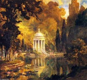 Colin Campbell Cooper - The Pool, Prince's Park, Arajnuez