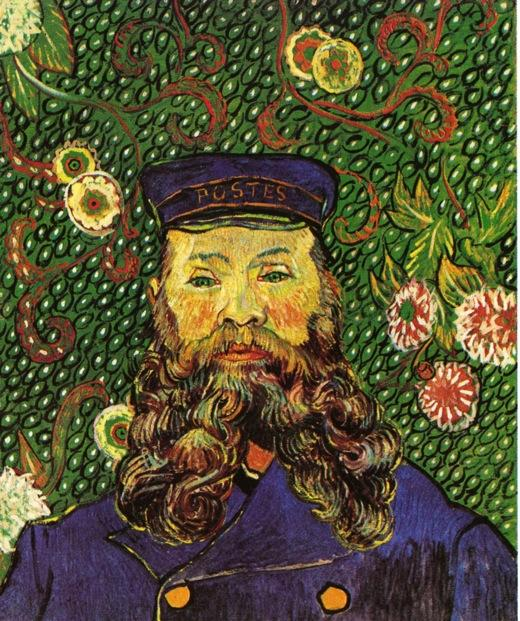 Order Paintings Reproductions | Portrait of the Postman Joseph Roulin by Vincent Van Gogh | Most-Famous-Paintings.com