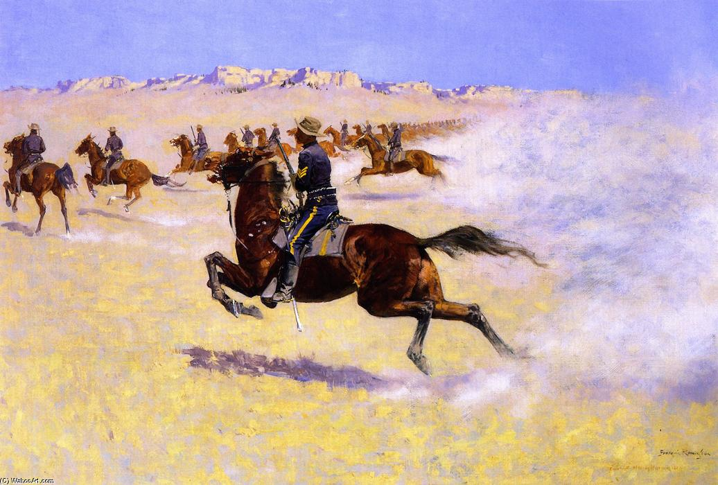 frederic remington and his paintings and writings on racism and imperialism Mark twain and the onset of the imperialist in his mature writing even many left-wing socialists failed to fight imperialism, as they failed to fight racism.