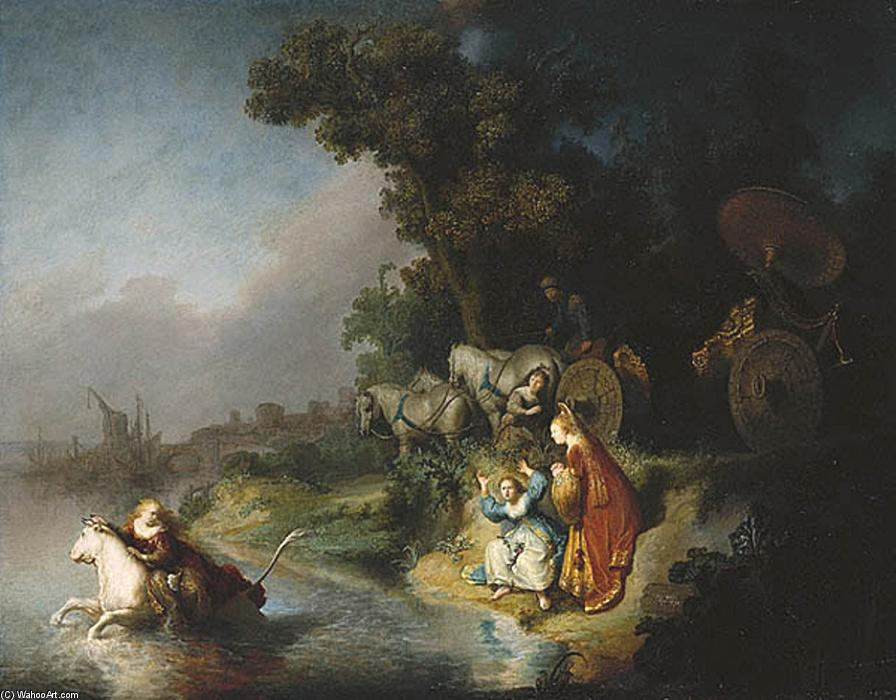 famous painting The Rape of Europe of Rembrandt Van Rijn