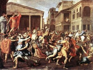 Nicolas Poussin - The Rape of the Sabine Women