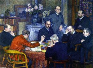 Theo Van Rysselberghe - A Reading