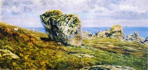 John Edward Brett - Rock Study on St. Agnes, Scilly Isles
