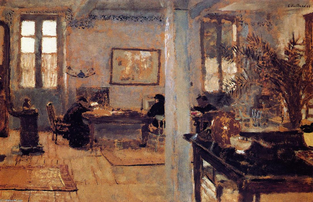 Order Museum Quality Copies | The Room by Jean Edouard Vuillard | Most-Famous-Paintings.com