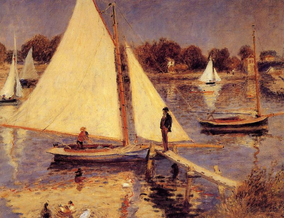 Sailboats at Argenteuil by Pierre-Auguste Renoir | Museum
