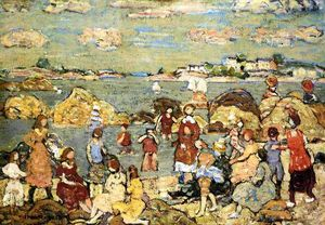 Maurice Brazil Prendergast - The Seashore