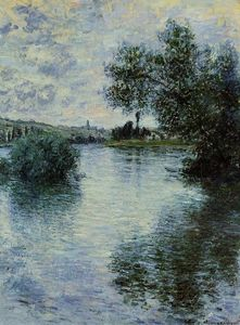 Claude Monet - The Seine at Vetheuil
