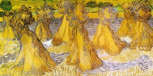 Vincent Van Gogh - Sheaves of Wheat