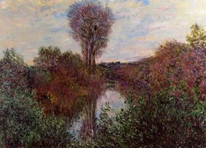 Claude Monet - Small Arm of the Seine at Mosseaux