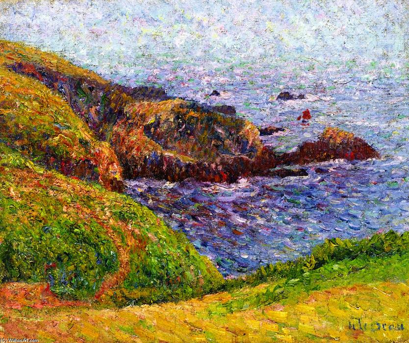 famous painting The Sound of Gustave Loiseau