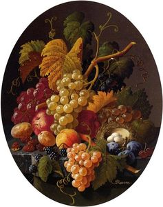 Severin Roesen - Still Life with Fruit (12)