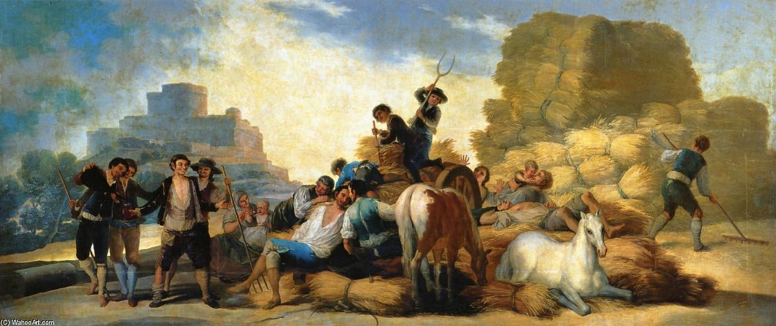 famous painting Summer of Francisco De Goya
