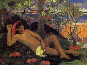 Paul Gauguin - Te Arii Vahine (also known as The King's Wife)