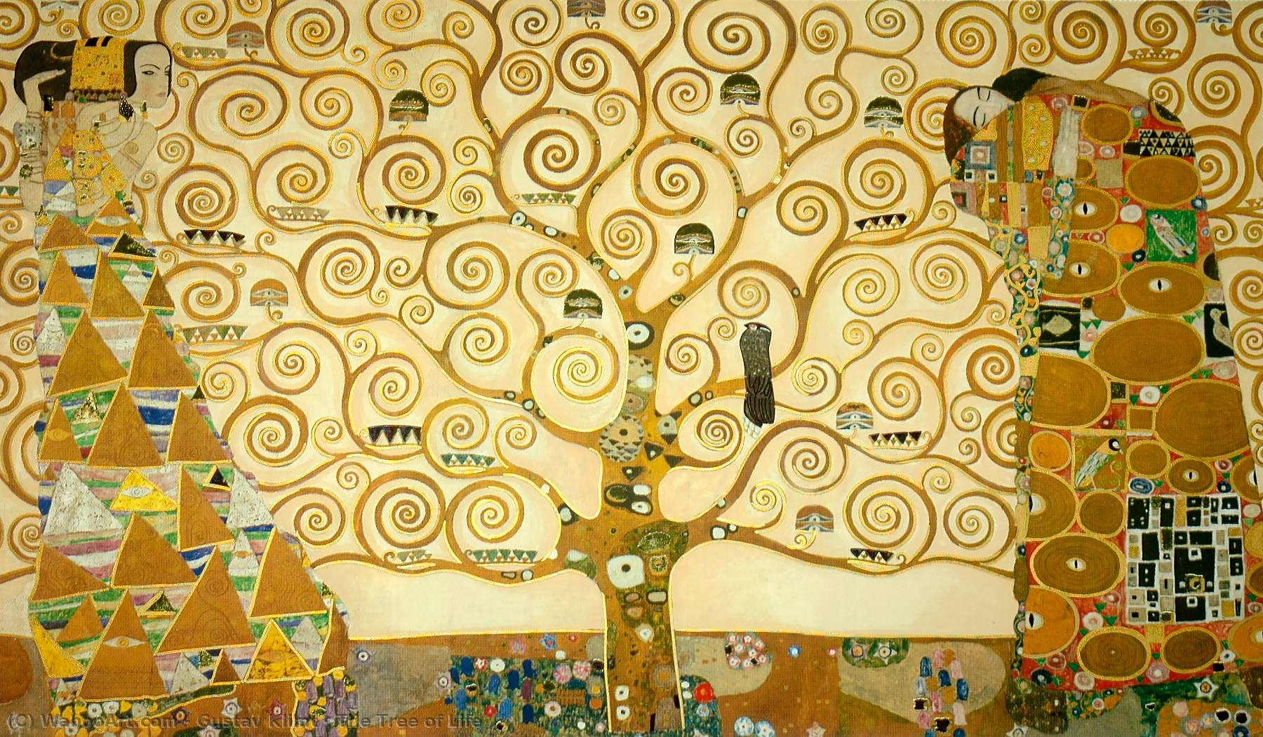 Order Paintings Reproductions | The Tree of Life by Gustav Klimt | Most-Famous-Paintings.com