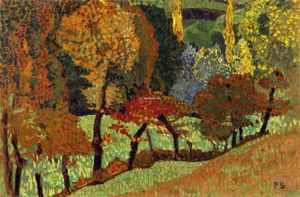 Paul Serusier - Trees along a Creek
