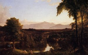 Thomas Cole - View on the Catskill, Early Autunm